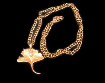 Gingko biloba, Gingko, Gingko Leaf, Gingko Necklace, Leaf Necklace, Gold Leaf Necklace, Mr Love, Mr Love Queen's Choice, Mr Love Gavin
