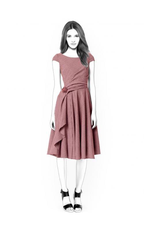 Lekala 4416 Kleid PDF Muster Nähmuster PDF | Etsy