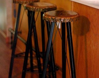 Bar Stools (Set of 3)