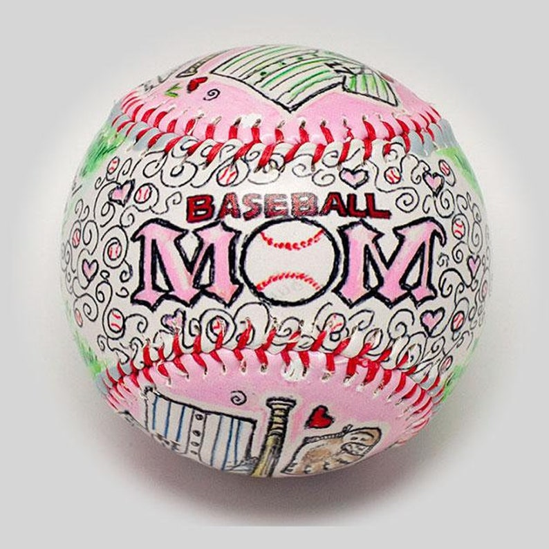 Baseball Mom Gift Baseball Gift for Mom Baseball Mom gift image 0