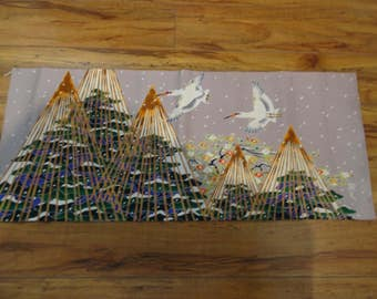 Japanese Silk Birds of Paradise
