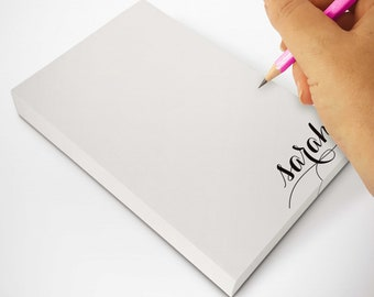 Personalized Notepad To Do List | Custom Memo Pad or Scratch Pad | Writing Paper Stationery Note Pads | HOLLA SWASH