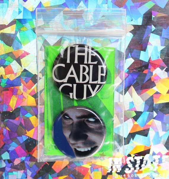 Jim Carey / Cable Guy Button Set