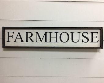 Farmhouse Sign, Home decor, Rustic decor, wall sign
