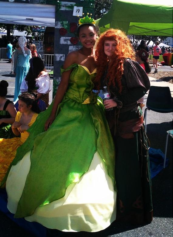 Disney Tiana Princess And The Frog Princess Ball Gown Etsy