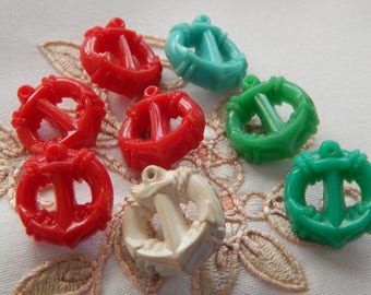 Anchor - Vintage Plastic Kiddie Buttons 8