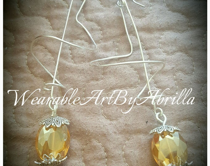 UNcomplicated .. handmade .. handcrafted .. unique .. wearable art .. dangle .. drop