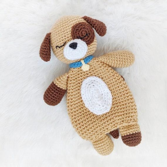 CROCHET PATTERN: Crochet Lovey Puppy Amigurumi Pattern