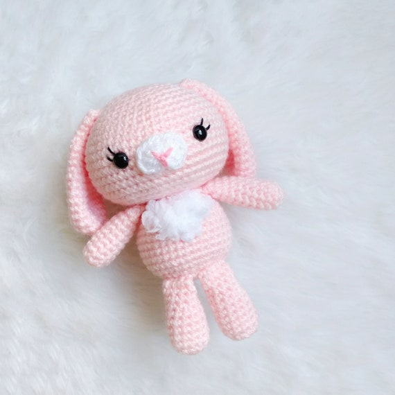 Pattern Crochet Bunny Pattern Amigurumi Rabbit Pattern Etsy