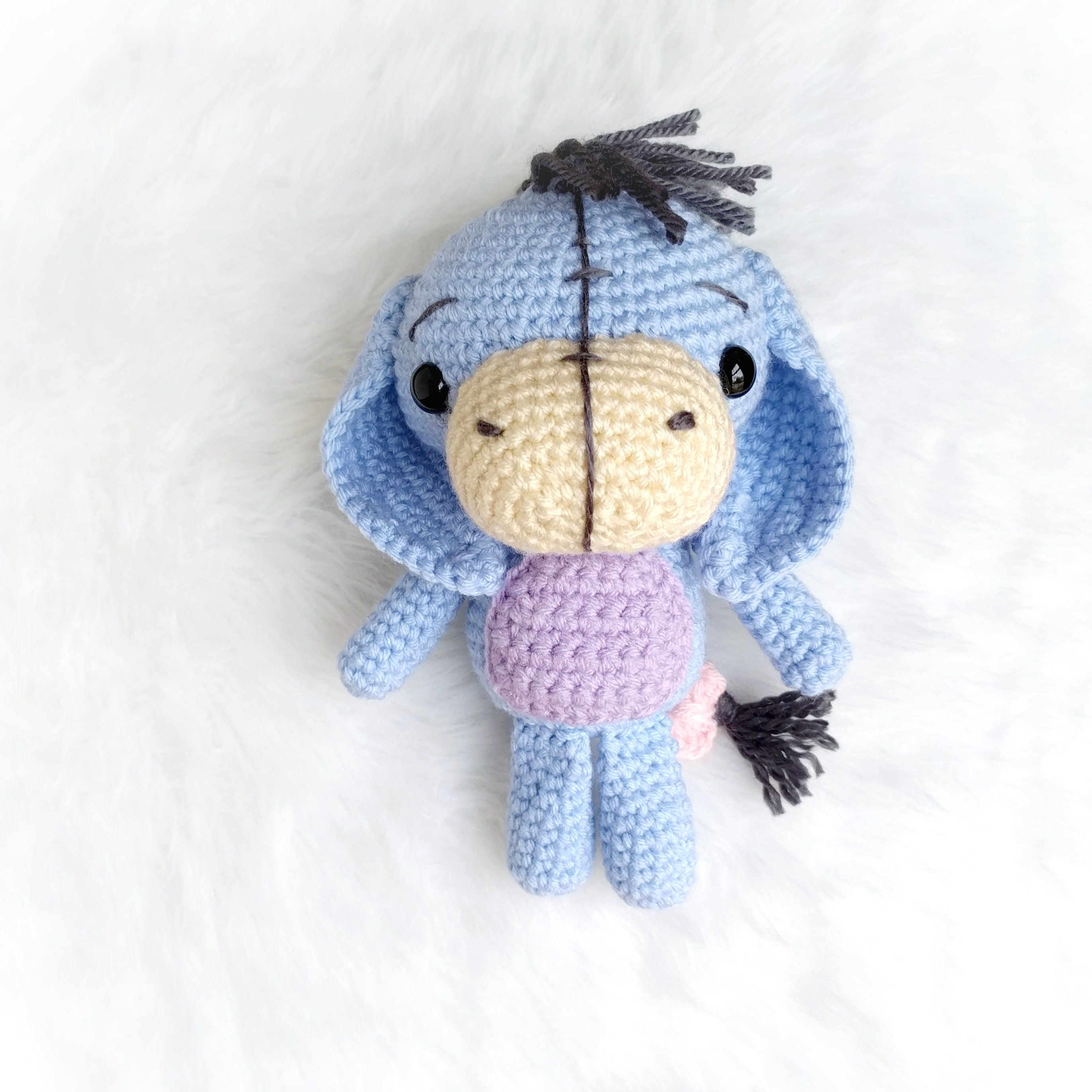 Baby donkey amigurumi pattern - printable PDF – Amigurumi Today Shop | 2743x2743