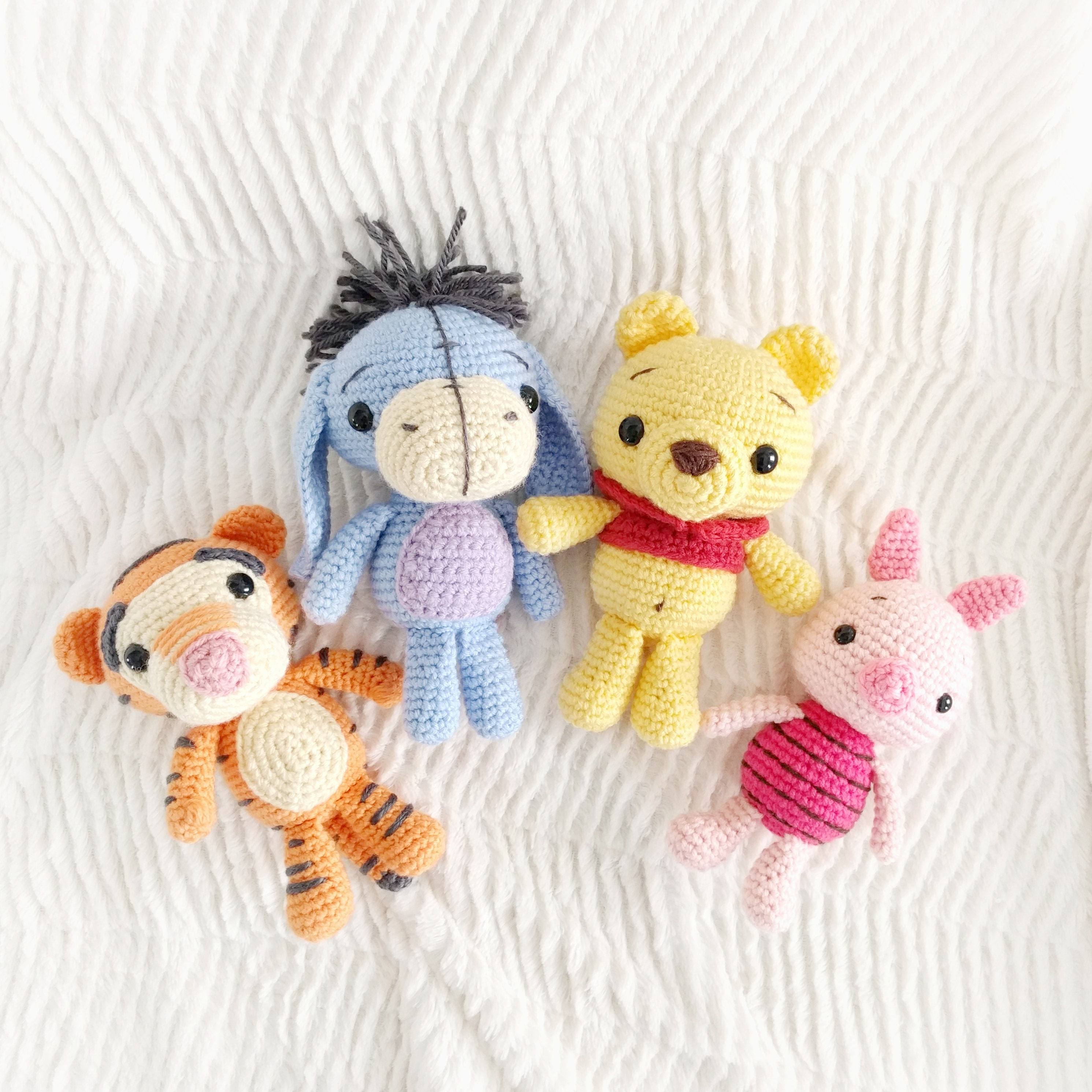 Ravelry: Piglet from Winnie the Pooh Amigurumi pattern by Tiny ... | 2982x2982