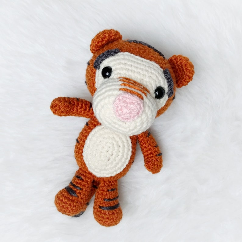 Denver the Tiger Amigurumi Crochet Pattern - English, Dutch ... | 794x794