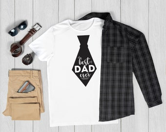 Father's Day Tie | Best Dad Ever SVG | Fathers Day Gifts Ideas | Instant Download