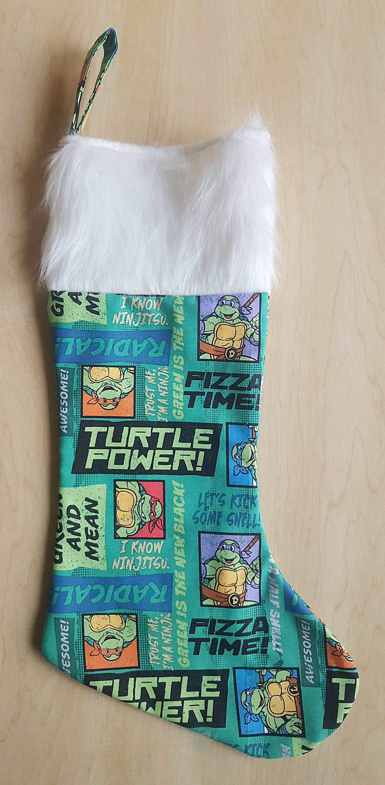 Ninja Turtle Stocking | www.topsimages.com