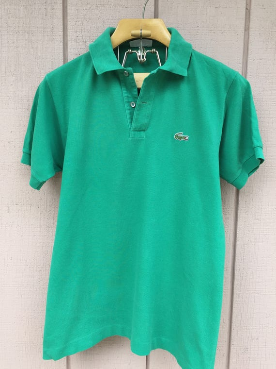 new images of classic new release Vintage Lacoste Polo shirt - Size FR 4 - US M/L