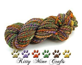 Two-ply Handspun Yarn - Falkland Merino Wool Yarn - 130 yards, Bulky Weight - 2-ply