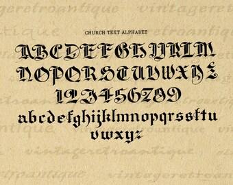 Medieval font | Etsy
