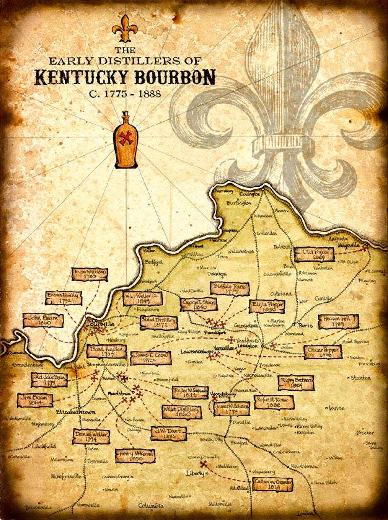 Kentucky Bourbon Distillers Art Print - 11