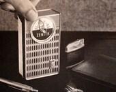 1960 Zenith Pocket Radio Ad - Wall Art - Home Decor - Transistor - Retro Vintage Electronics Advertising