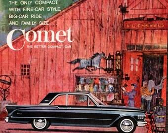 Alcoa Aluminum Ad 1963 Wall Art Beer Can Retro Vintage