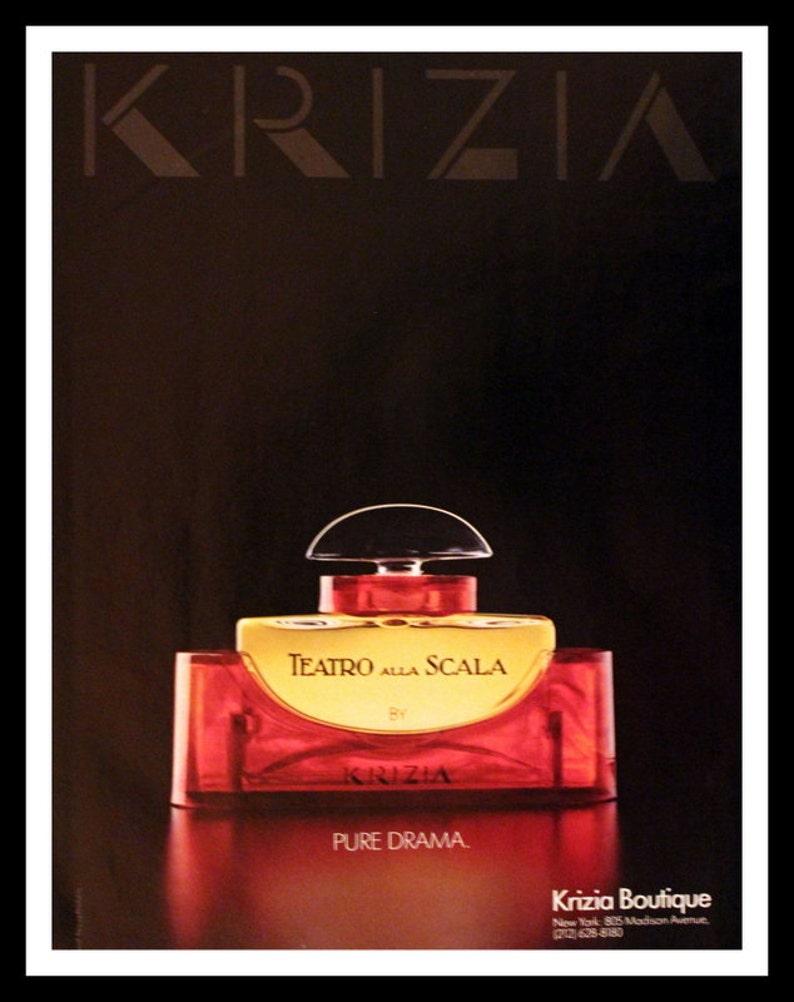 Art Bath Fragrance Teatro Retro Perfume 80s Ad Wall Advertising Alla Vintage Parfum 1987 Scala Home Vanity Krizia Decor T3cFlKJ1