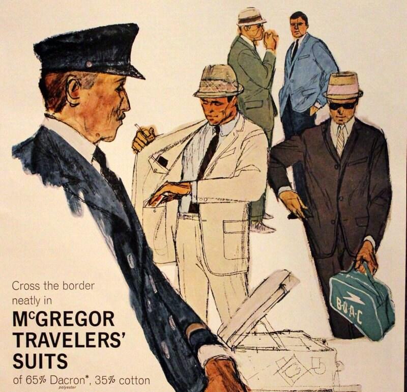 1963 Travelers Suits Ad Mcgregor Vintage Mens Fashion Etsy