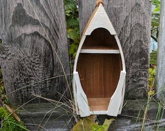 Shabby Chic Canoe Shelf