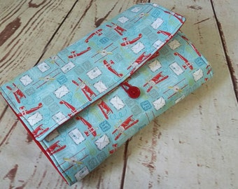 Travel Changing Pad Clutch Makes a Great Baby Shower Gift