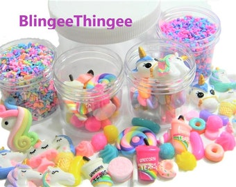 Nice 6pcs Bead Making Supplies For Dollhouse Figurine Craft Miniature Slime Charms Cola Bottle Resin Plasticine Slime Diy Accessories Home