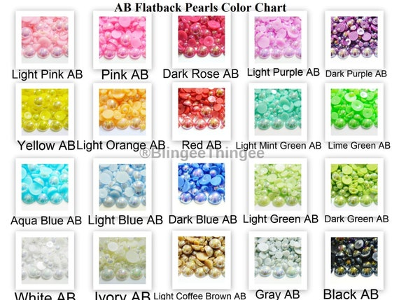 LIGHT YELLOW CRAFT 5mm HALF ROUND RESIN IMITATION *PEARL BEADS* FOR NAIL ART