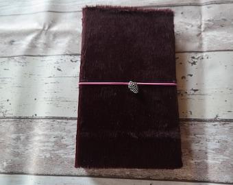 Midori/Fauxdori Travelers notebook regular size faux fur hardcover