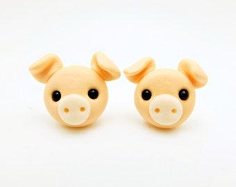 piggy earring studs