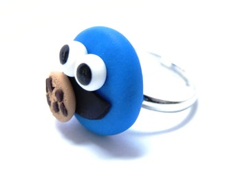 Cookie monster ring
