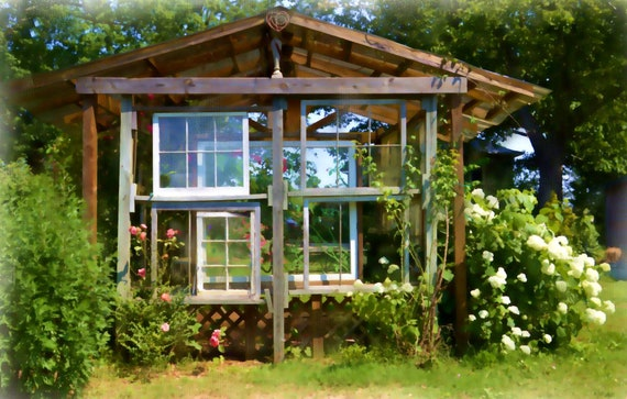 Garden Shed (canvas)