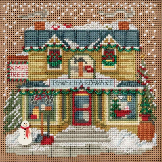 MILL HILL Buttons /& Beads Counted Cross Stitch Kit MH14-5301  JOY OF CHRISTMAS