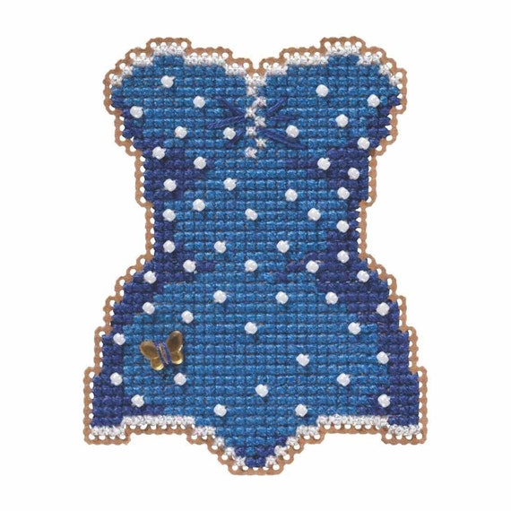 Hedgehog Beaded Counted Cross Stitch Ornament Kit Mill Hill 2019 Spring Bouquet MH181913