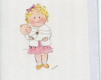 newborn card etsy