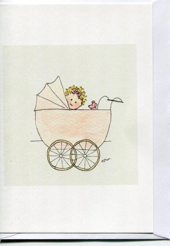 Newborn Girl Card