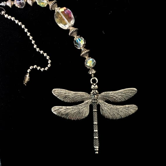 Decorative Chain Pulls Beauteous Dragonfly Light Pull Ceiling Fan Pulls Decorative Ball Chain Etsy