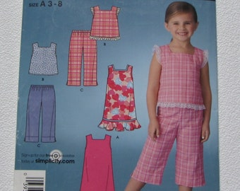 4b42f3ac70f85 Simplicity 3749 - Super Cute Easy Girl s Summer Outfits  Dress