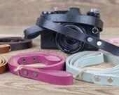 Leather camera strap Personalized camera strap DSLR strap DSLR Canon strap DSLR Nikon strap Sony strap