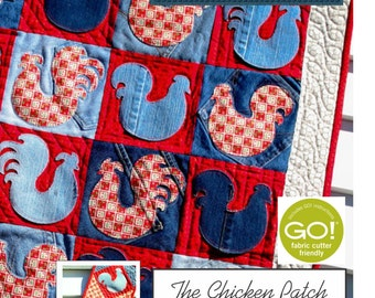 PDF DOWNLOAD- The Chicken Patch Quilt and Table Runner