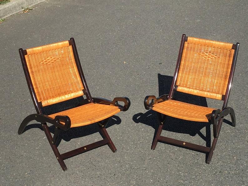 Coppia di sedie ninfea gio ponti per fratelli reguitti anni etsy