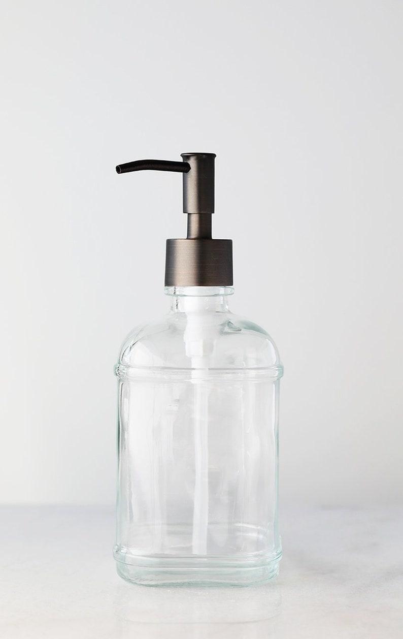 3bac90edb315 Soap Dispensers | Catalina Glass Soap Dispenser