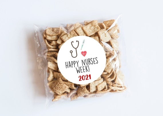 Nurses Week Stickers 2021 Favors Medical Stickers Thank Etsy
