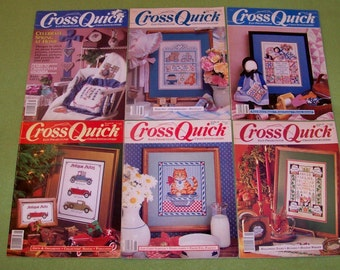 Vintage Cross Quick Magazines - Lot Of 6 - A