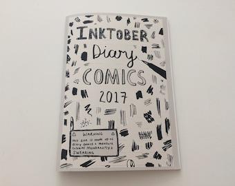 Inktober diary comics