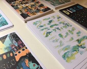 A5 postcards - Various