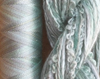 Silk Harmony, No.33 Aquamarine, Embroidery Thread Selection and Silk Machine Thread, Embroidery Threads, Quilting Thread