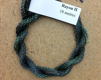 Hand Dyed 3600/2 Viscose Cord, Colour No.71 Chestnut, Rayon II, Embroidery, Thread, Needlepoint